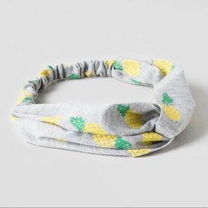 Pineapple bohemian Gypsy headband Francesca's